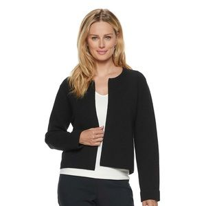 NWT Elle Ribbed Open Front Cardigan Sweater